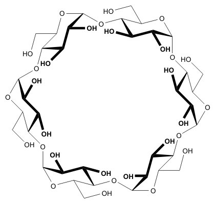 AlphaCyclodextrin structure