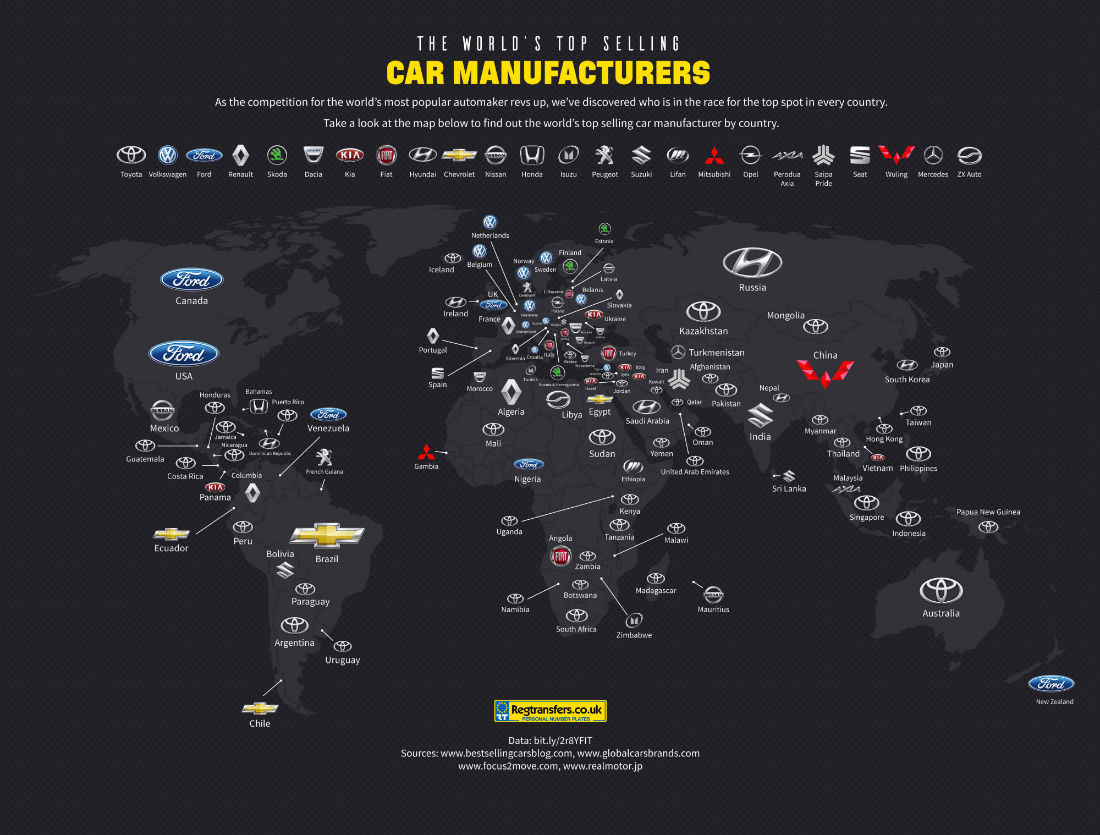 Cars map