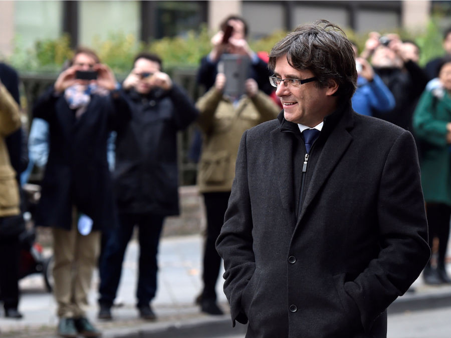Puigdemont brussels
