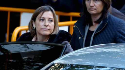 Forcadell arrives