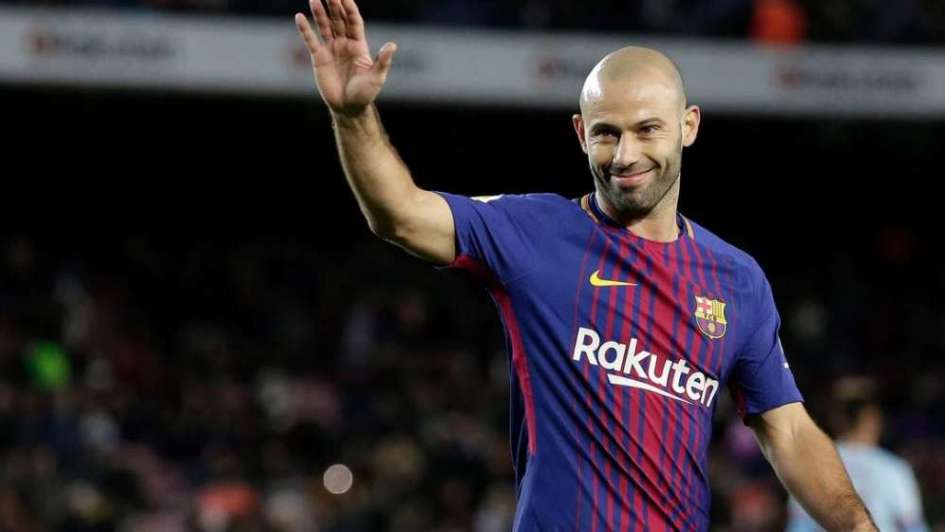Mascherano leaves